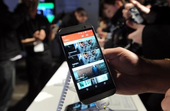 ''İşte HTC'nin yeni göz bebeği / Der neue HTC!''