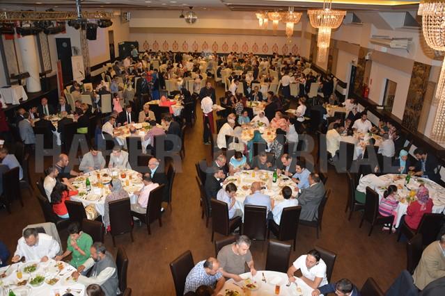 Avusturya İslam Cemaati'nin Düzenlediği İftar Yemeğinden Kareler