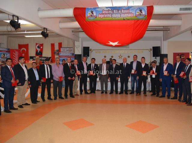 Viyana'daki Samsunlular, Avusturya Samsunlular Derneği Sam-Der tarafından organize 7. Geleneksel Samsunlular Şöleni'nde buluştu.