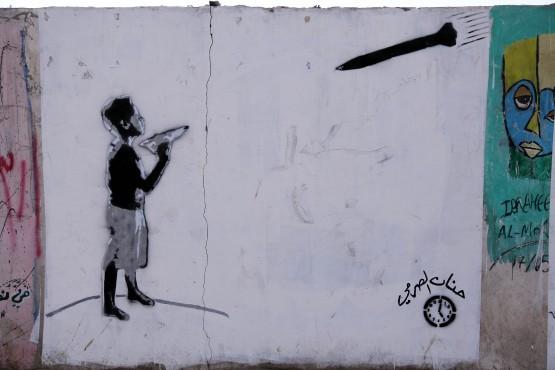 ''Yemen'de Ülke Sorunları Duvarlara Çiziliyor''