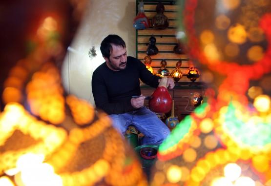 ''Su Kabağını Sanata Dönüştürüyor''