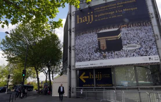 ''Paris'te Hac Sergisi Yoğun İlgi Görüyor''