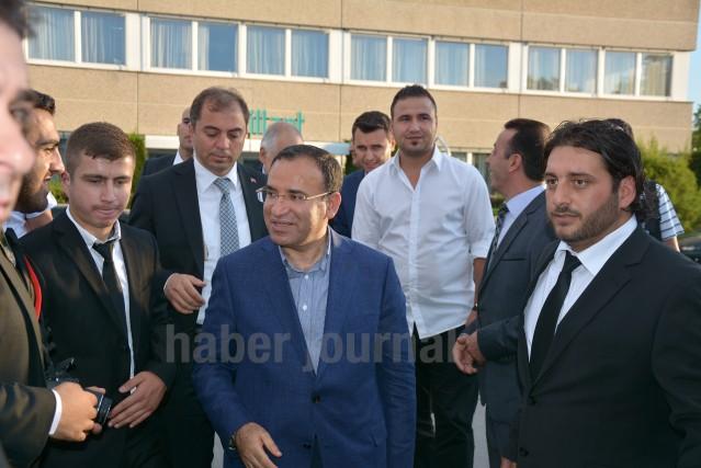 T.C. Adalet Bakanı Bekir Bozdağ, UETD Wiener Neustadt tarafından organize edilen iftar yemeğinde Viyana'da Türkler ile buluştu