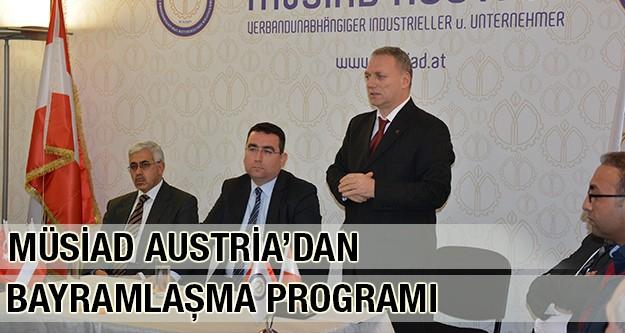 MÜSİAD Austria Bayramlaşma Programını Gerçekleştirdi