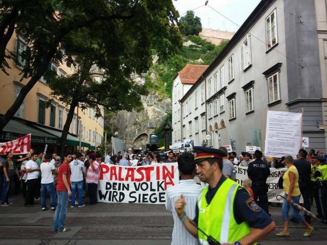 Graz: ''Hepimiz Gazze'yiz!''