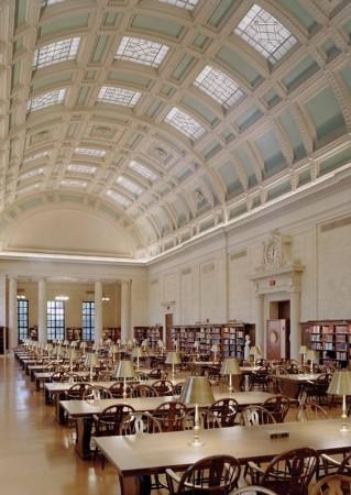 Widener Kütüphanesi, Harvard Üniversitesi, ABD