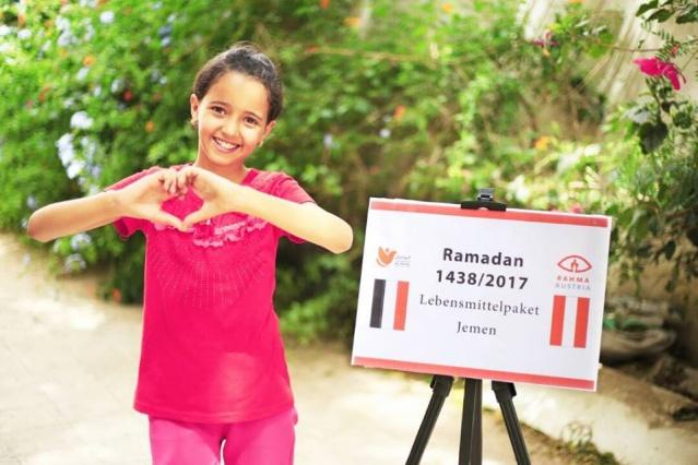 Rahma Austria insani yardım derneği 2017/1438 yılı Ramazanında toplam 9 ülkedeki muhtaçlara yardımları ulaştırdı.