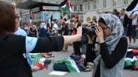 'Viyana'da Unutulmayacak Gazze Gösterisi'