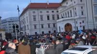 Viyana 12 Bin Kişiyle Saldırıları Protesto Etti