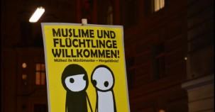 Viyanada Olaylı Protesto