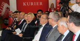 1. Viyana Kültürlerarası Ekonomi ve Aile Fuarı Açılış Programından Kareler