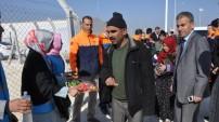 Suriyeli Kürtler Yeni Çadır Kente Alınmaya Başladı