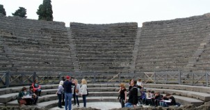 Vezüv Yanardağı'nın yok ettiği şehir: Pompei