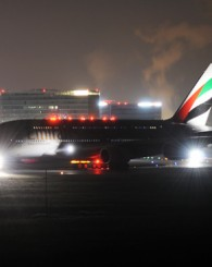 Emirates A380 in Wien / Emirates A380 Viyanada