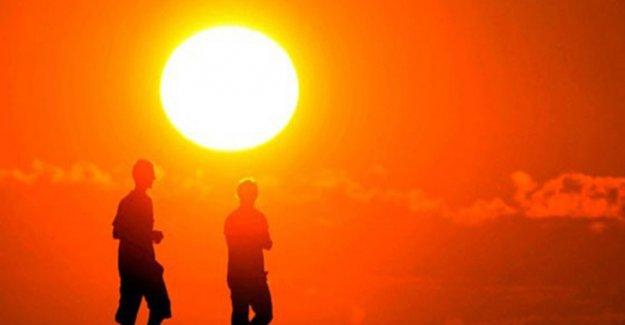 2016 için sıcaklık uyarısı!