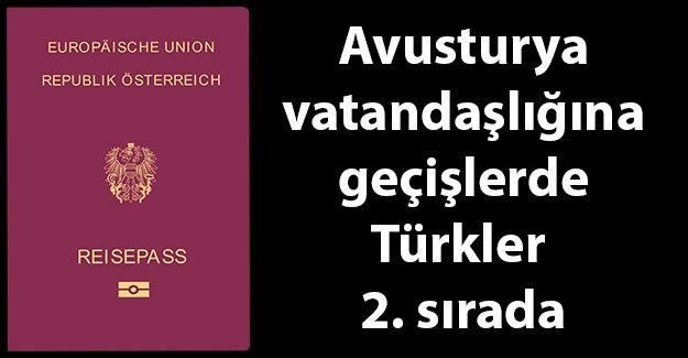 9 ayda 6093 kişi Avusturya vatandaşı oldu