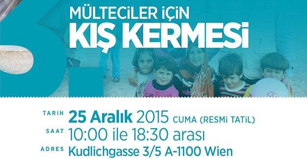 Yarın Viyana'da mülteciler için battaniye toplanacak