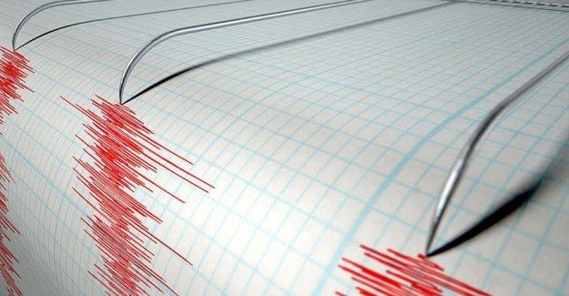 6,7 büyüklüğünde korkutan deprem