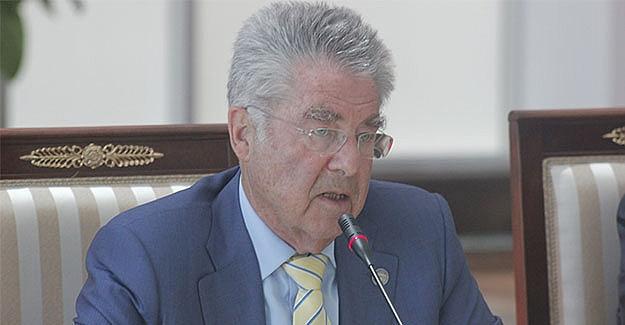 Cumhurbaşkanı Fischer'dan Strache'ye sert tepki