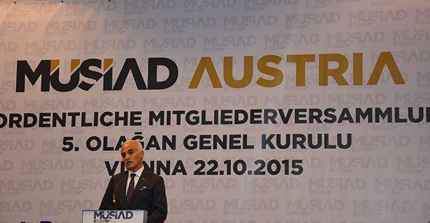 Müsiad, Avusturya'da şube sayısını artıracak