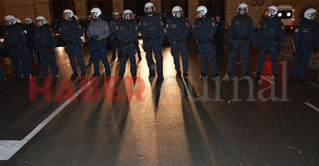 Viyana Polisi teyakkuzda: O gün 29 kamera anlık kayıt yapacak