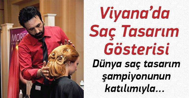 Viyana'da saç tasarım gösterisi yapılacak