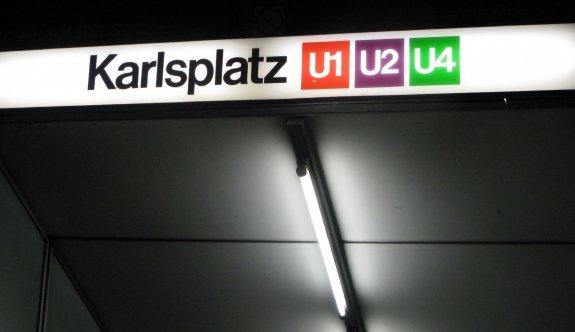 2 kişi U4 metrosunu durdurdu
