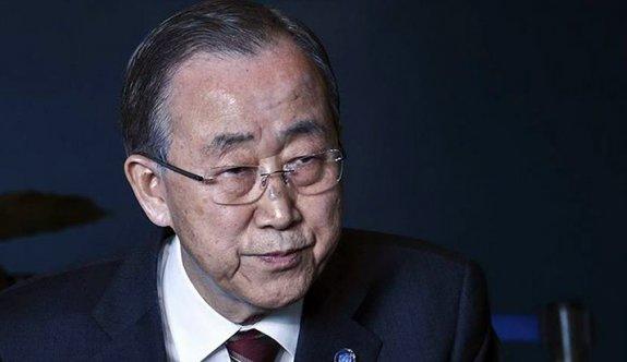 """Ban Ki-mun: """"Filistin için utanıyorum"""""""