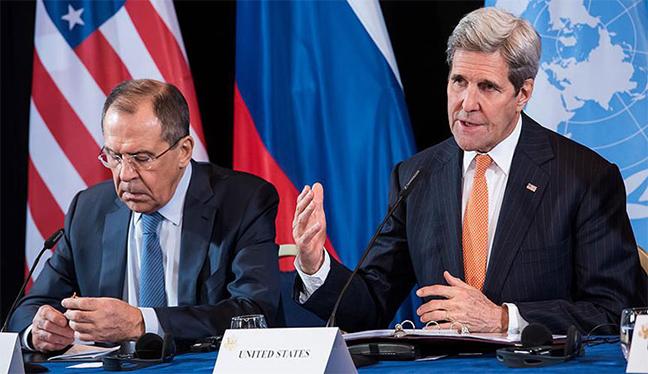 Lavrov ile Kerry Suriye'deki ateşkes ihtimalini görüştü