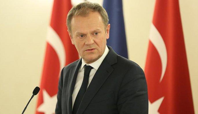 AB Konseyi Başkanı Tusk anlaşmaya varıldığını duyurdu