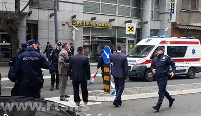 Belgrad'da intihar saldırısı