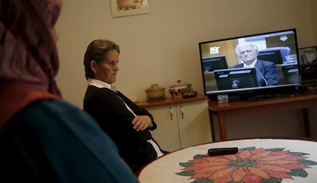 Bosnalı kurban yakınları Karadzic kararından memnun değil