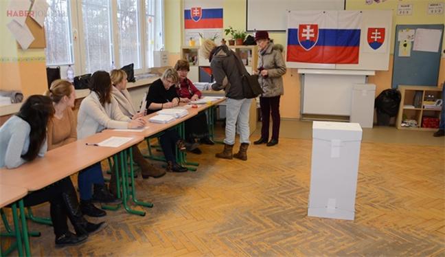 Slovakya sandık başında