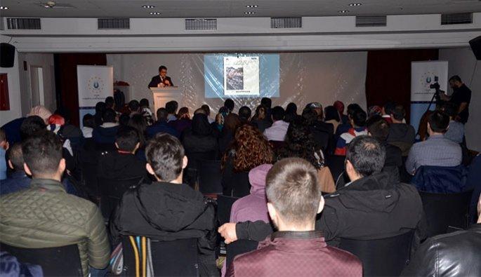 USMED Başkanı Ercan Viyana'da Konuştu