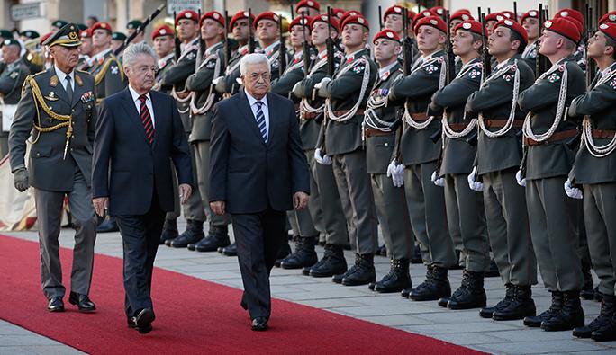 Filistin Devlet Başkanı Abbas'tan Avusturya Cumhurbaşkanına Ödül