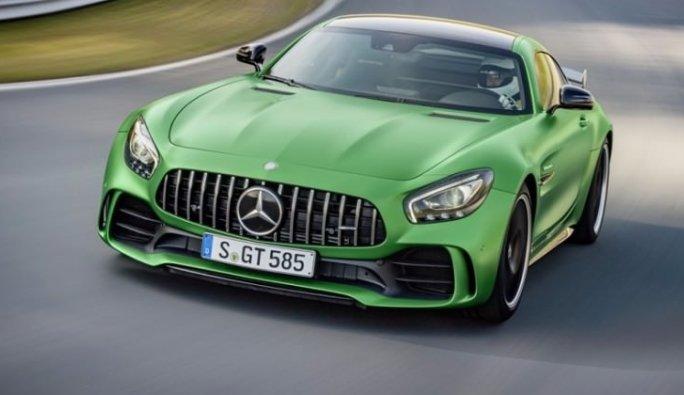 Mercedes-AMG GT R ortaya çıktı!