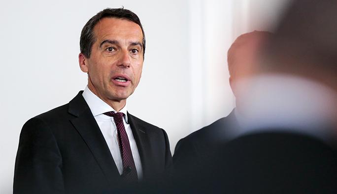 Avusturya Başbakanı Kern'den 'Türkiye' açıklaması