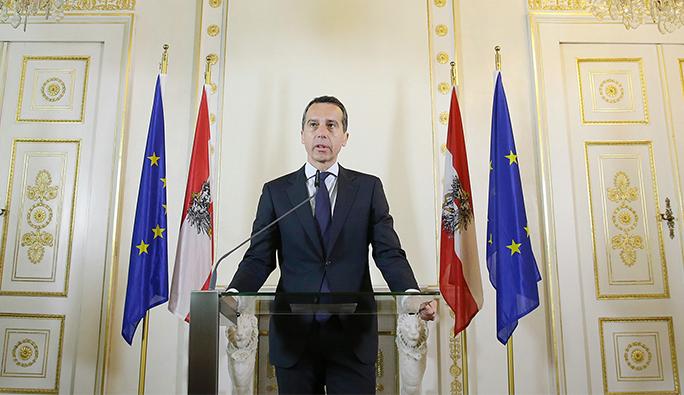 Avusturya Başbakanı Kern: 'Şiddet asla siyasi mücadelenin parçası olamaz'
