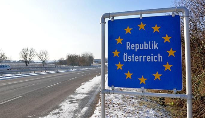 Avusturya ile komşusu arasında 'kontrol' krizi