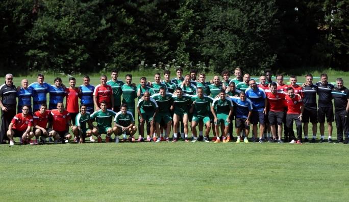 Bursaspor çalışmalarını Avusturya'da sürdürüyor