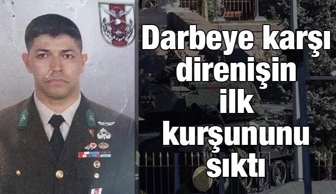 Kahraman astsubay darbeci generali alnından vurdu