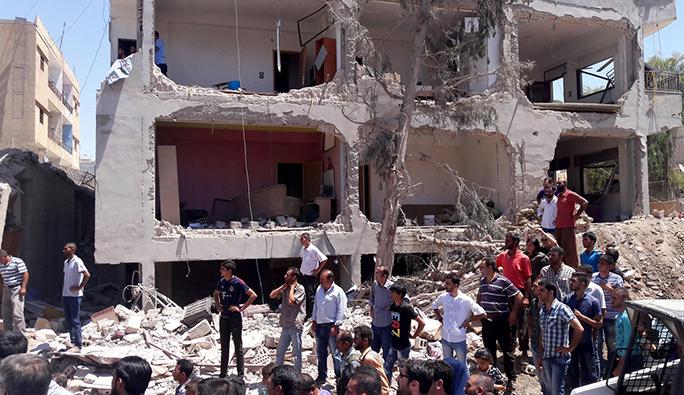 Suriye'de yerleşim bölgesine saldırı: 22 ölü 50 yaralı