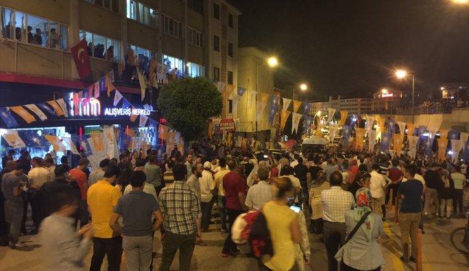 Türkiye halkı sokağa indi