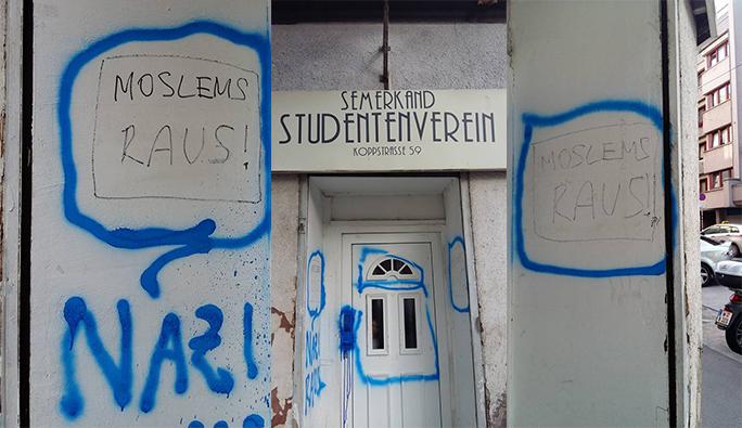 Viyana'da İslami eğitim derneğine ırkçı saldırı