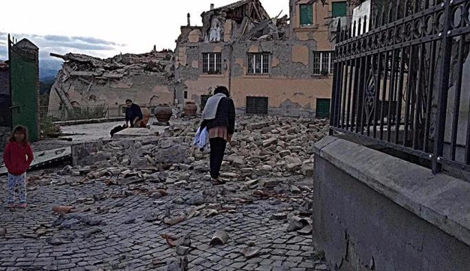 Avrupa ülkesinde şiddetli deprem: En az 14 ölü