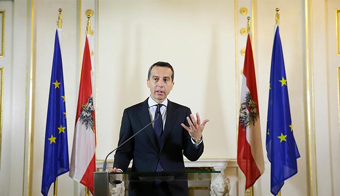 Avusturya Başbakanı Kern: 'Türkiye güvenlik konusunda önemli bir ortak'