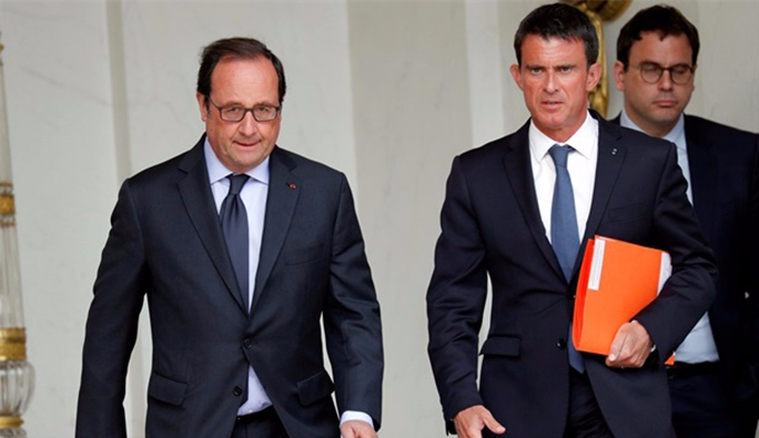 Hollande ve Valls'ı Twitter'dan tehdide 5 ay hapis