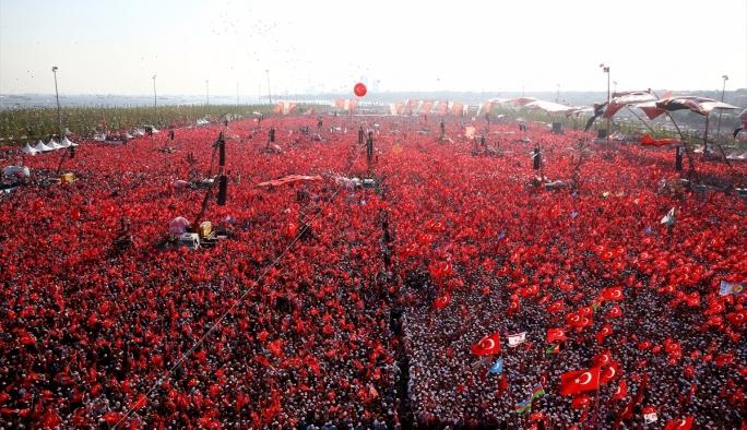 İstanbul Emniyeti: 5 milyon kişi katıldı