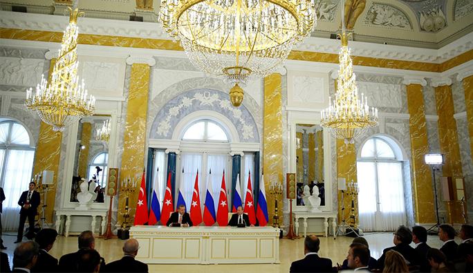 Putin - Erdoğan Görüşmesinden Tarihi Kararlar Çıktı