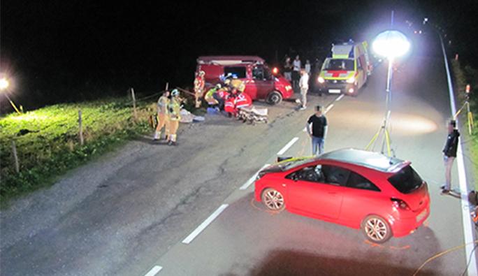 Vorarlberg'de akıl almaz kaza